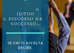 discorso -di- successo
